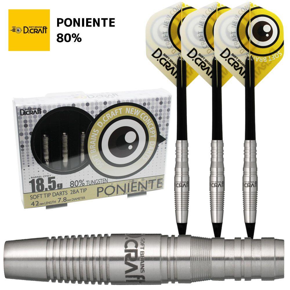 ディークラフト 80% ポニエンテ D-craft Darts 80% PONIENTE